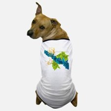 Transcription factor-DNA, molecular mo Dog T-Shirt