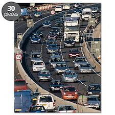 Traffic jam, UK Puzzle