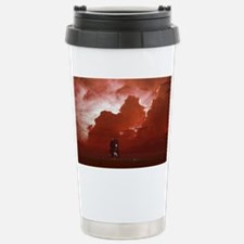 Titan exploration, artwork Travel Mug