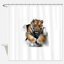Tiger, artwork Shower Curtain