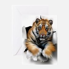 Tiger, artwork Greeting Card