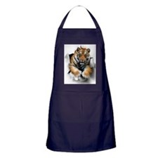 Tiger, artwork Apron (dark)
