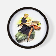 Pin-Up Time Keeper Wall Clock