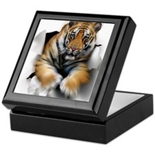 Tiger, artwork Keepsake Box