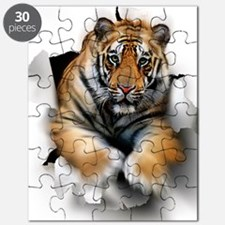Tiger, artwork Puzzle