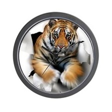 Tiger, artwork Wall Clock