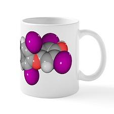 Thyroxine hormone molecule Mug