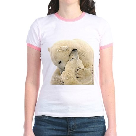 Polar Bear Hugs Jr. Ringer T-Shirt