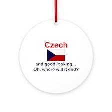 Good Looking Czech Keepsake Ornament