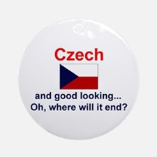 Good Looking Czech Keepsake Ornament