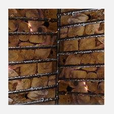 BBQ Flip Flops Tile Coaster