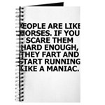 People Are Like Horses Journal
