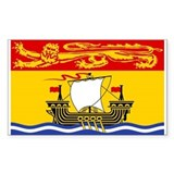 Canadian provinces Stickers