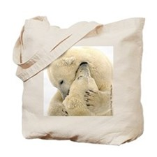 Polar Bear Hugs Tote Bag