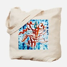 Thrombin protein Tote Bag