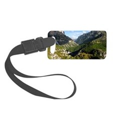 The Vikos Gorge in Greece Luggage Tag