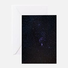The Orion Constellation Greeting Card