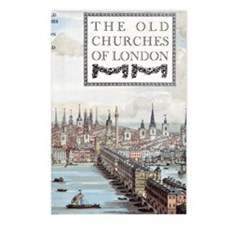 The Old Churches of Londo Postcards (Package of 8)