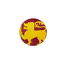Sri Lanka Lion Cricket Mini Button