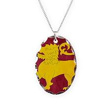 Sri Lanka Lion Cricket Necklace