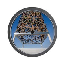 The Freedom Sculpture, Mostoles, Spain Wall Clock