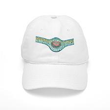 Tea leaf, light micrograph Baseball Cap