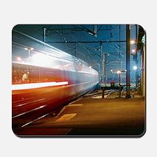 TGV train Mousepad