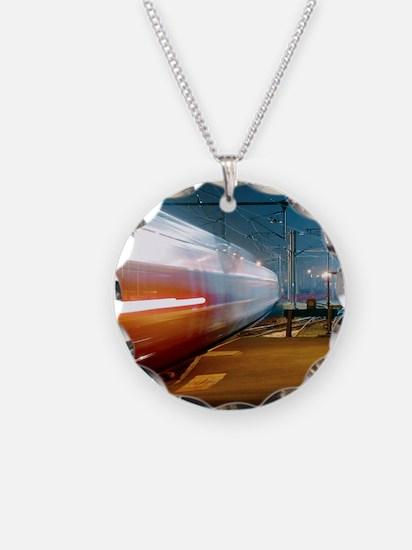 TGV train Necklace