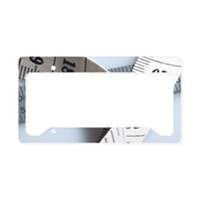 Tape measure License Plate Holder