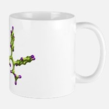 Tamoxifen breast cancer drug molecule Mug
