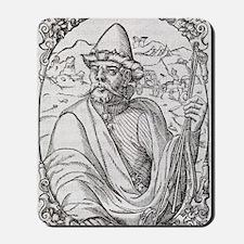 Tamerlane, Turko-Mongol emperor Mousepad