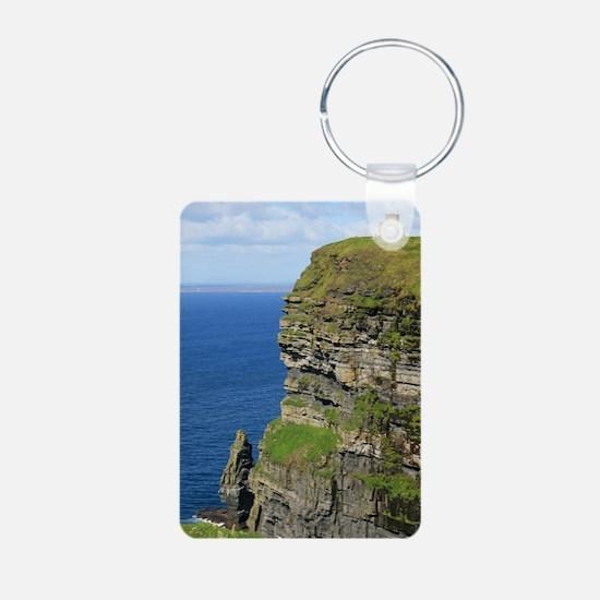 Cliffs of Moher Aluminum Photo Keychain