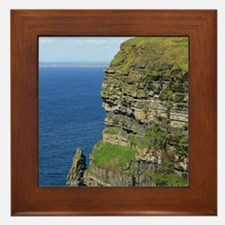 Cliffs of Moher Framed Tile