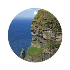 Cliffs of Moher Round Ornament