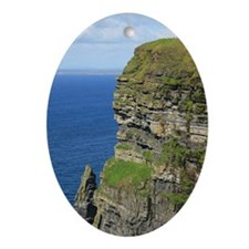 Cliffs of Moher Oval Ornament