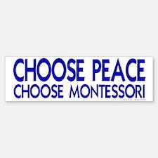 Choose Peace Bumper Bumper Bumper Sticker