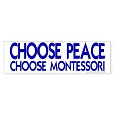 Choose Peace Bumper Bumper Sticker