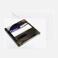 Syquest removable cartridge drive Greeting Card