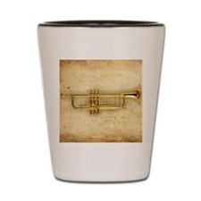 Trumpet (square) Shot Glass