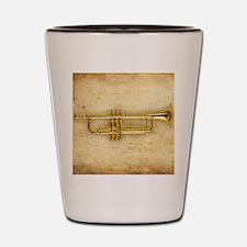 Trumpet (square) Shot Glass