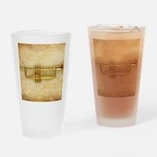 Trumpet (square) Drinking Glass
