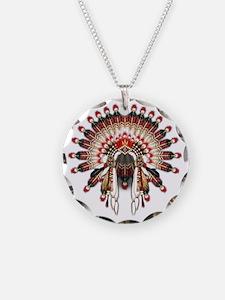 Native War Bonnet 03 Necklace