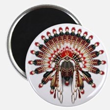 Native War Bonnet 03 Magnet