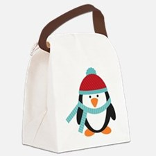 Cold Penguin  Canvas Lunch Bag
