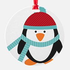 Cold Penguin  Ornament
