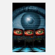 Surveillance, conceptual  Postcards (Package of 8)