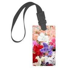 Sweet pea (Lathryrus odoratus) Luggage Tag