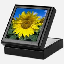Sunflowers Keepsake Box