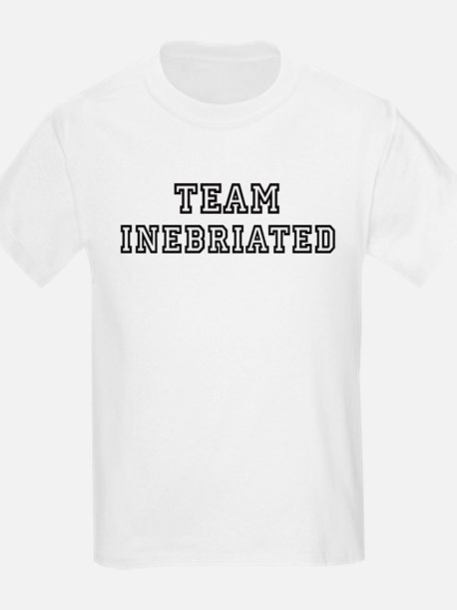 Team INEBRIATED Kids T-Shirt