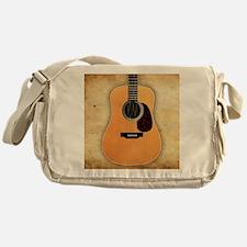 Acoustic Guitar (square) Messenger Bag